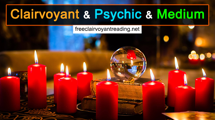 Clairvoyant And Psychic And Medium